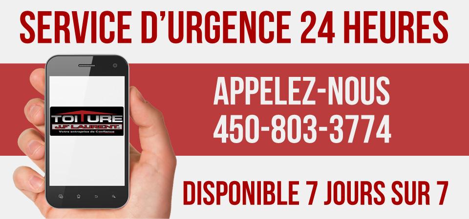 Urgence 24h | Toiture JF Laurent