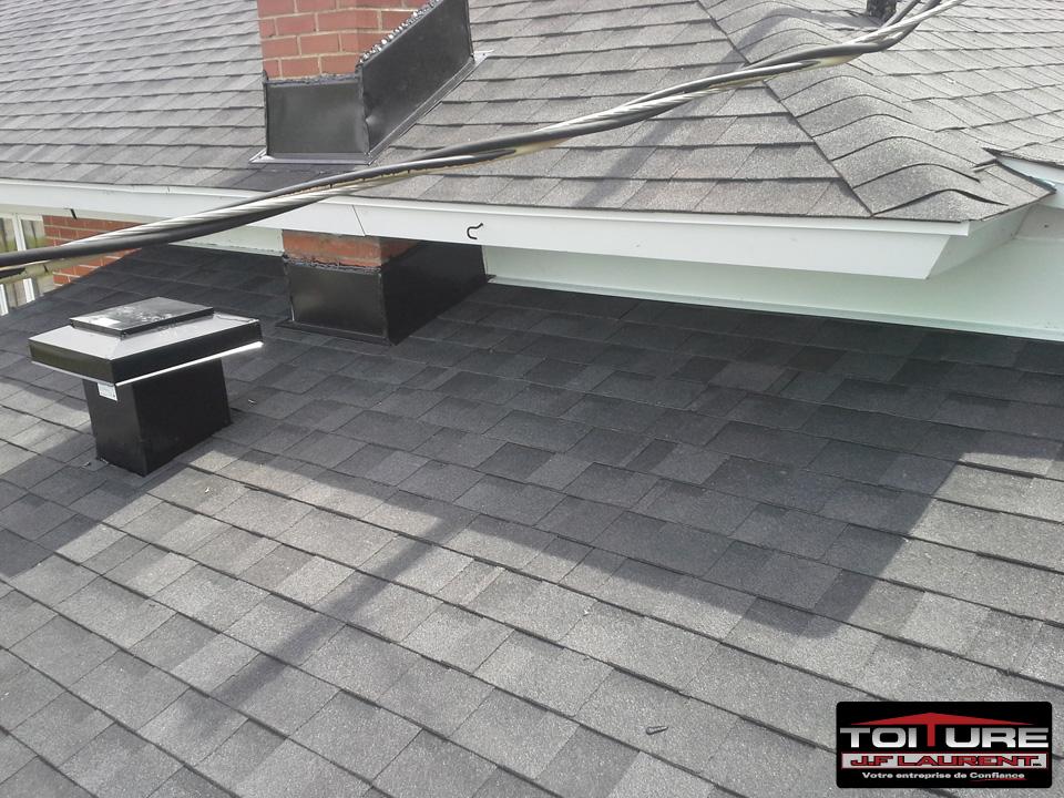 Réparation de toiture en asphalte à Joliette - Toiture JF Laurent à Joliette