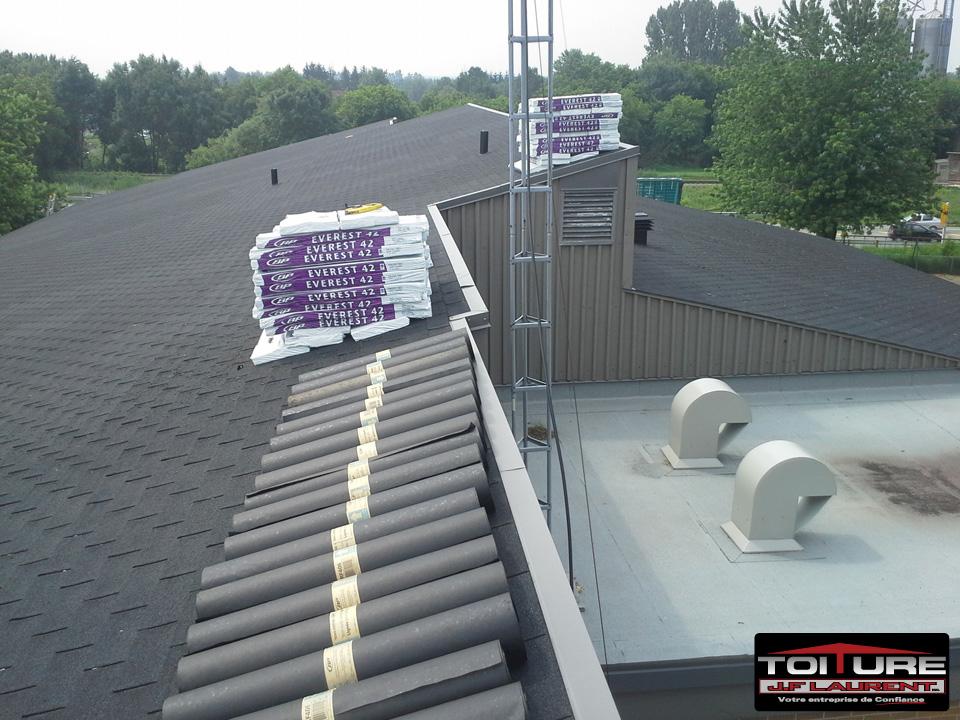 Réfection toiture école primaire de Brise-vent St-Thomas