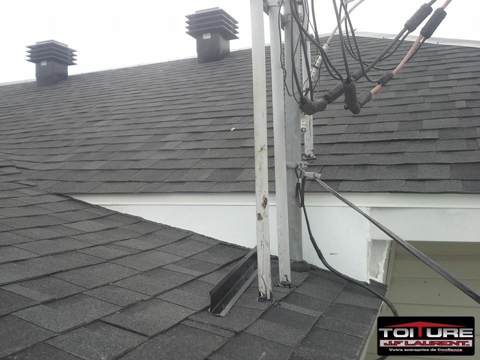 Résultat après les travaux de toiture à Joliette - Toiture JF Laurent à JolietteRésultat après les travaux de toiture à Joliette - Toiture JF Laurent à Joliette